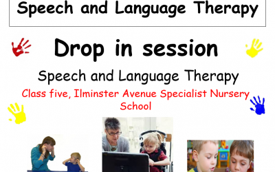 Speech and Language Drop in session
